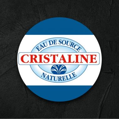 Cristaline plate 33cl