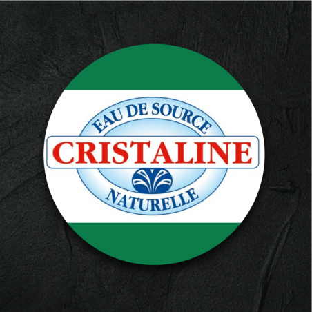 Cristaline pétillante 33cl